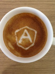 Today's latte, Angular JS.