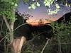 soleil couchant sentier des Bonshommes GR 107