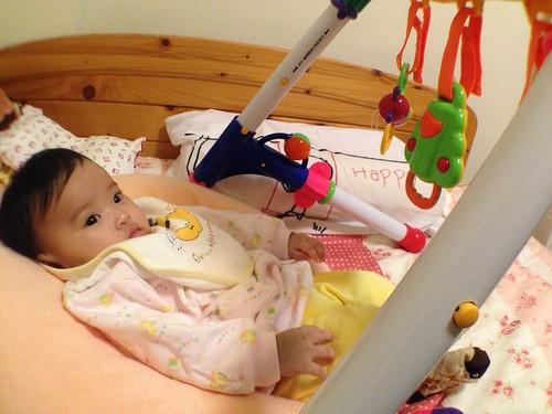 小麋鹿與她的樂雅 3WAY 健力架