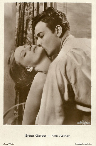 Greta Garbo and Nils Asther