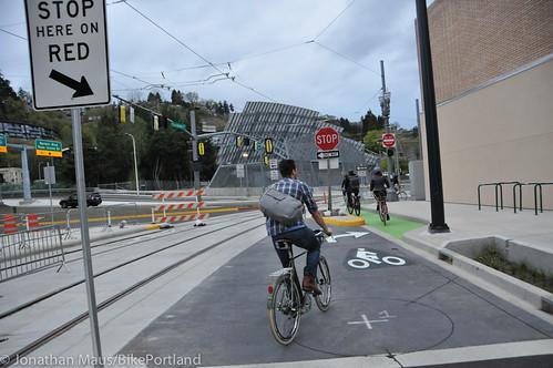 Bike Advisory Committee rides downtown-25