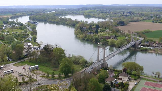 388 Le pont suspendu des Andelys