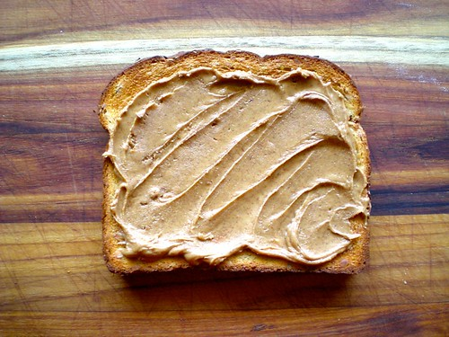 toast + almond butter
