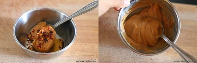 peanut butter sauce