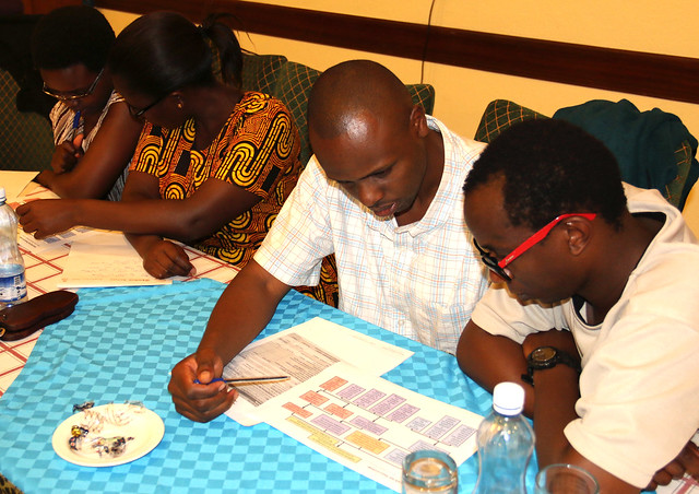Group discussions during the BecA-ILRI Hub annual retreat 21-23 April2016