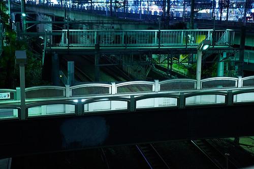 池袋 歩道橋