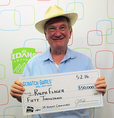 Ralph Flager from Boise, ID - $50,000 24 Karat Cashword