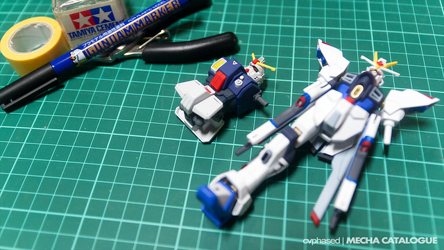 HGUC Gundam Ground Type - Work in Progress #1