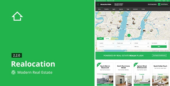 Realocation v2.2.0 - Modern Real Estate WordPress Theme