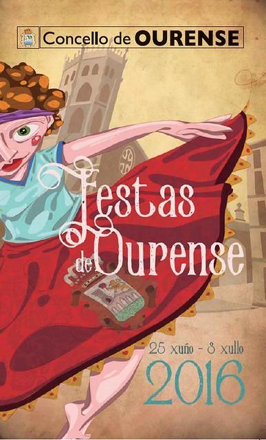 Ourense 2016 - Festas patronais - cartel