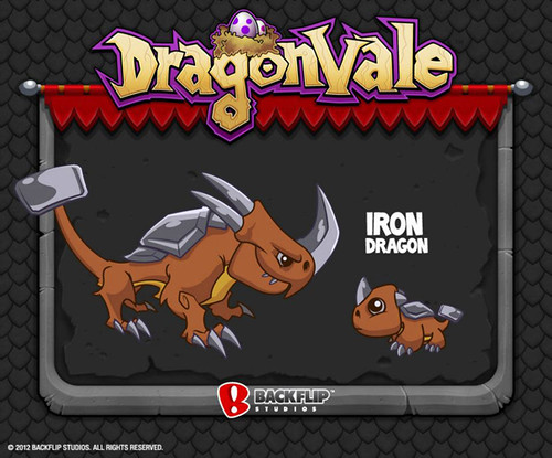 DragonVale Iron Dragon