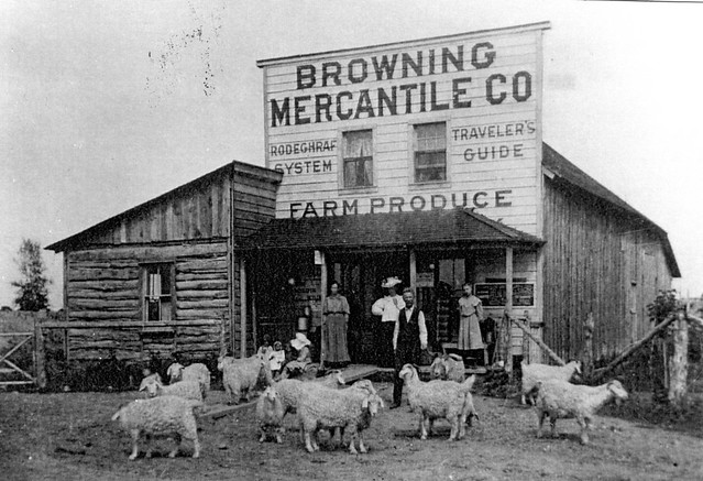 Browning Mercantile Store  1907