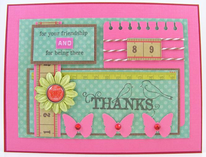 Thanks For Your Friendship Card