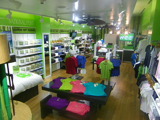 Cariloha Store with Cali Bamboo flooring
