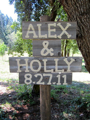Hand Painted Wedding Signs