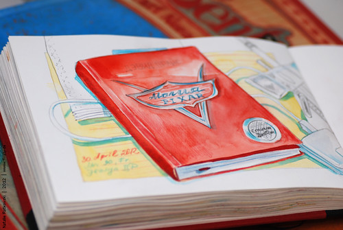 My 365 sketchbook