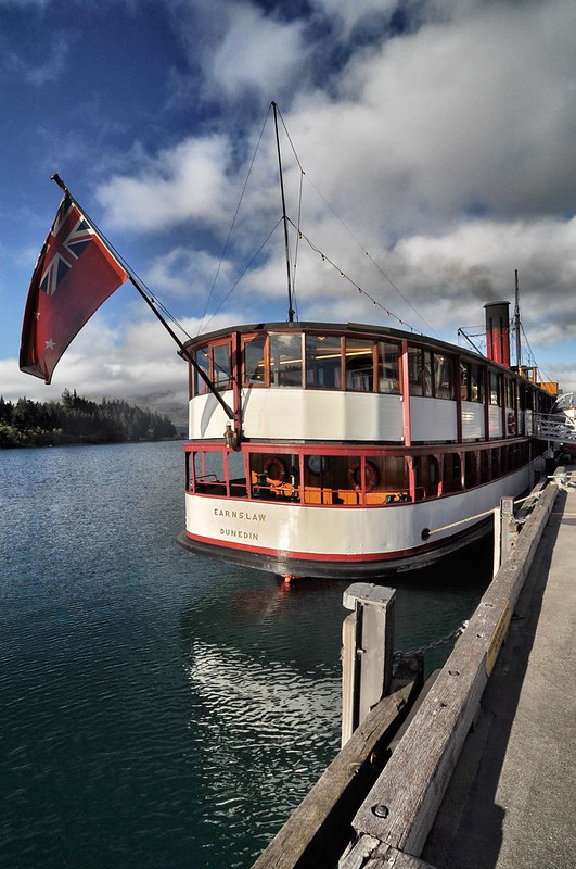 TSS Earnslaw @ Queenstown