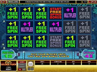 Moonshine Free Spins Bonus