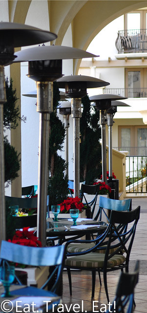 St Regis Monarch Beach- Dana Point, CA: Motif Outdoor Dining