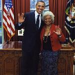 Obama & Nichelle Nichols