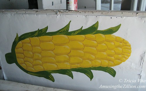 Corn on the Cob Painting