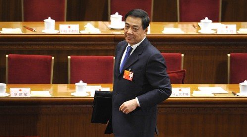 Bo Xilai, former Chinese Communist Party leader in Chongqing province. Mr. Bo was removed from his post at the recently-held National People's Congress. His wife is being charged with murder of a British businessman. by Pan-African News Wire File Photos