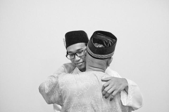 syafiqah + apek {kawen}