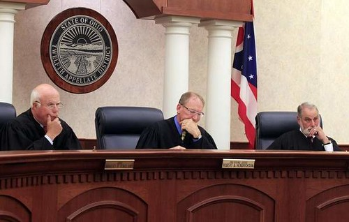 Judges panel in Widmer appeal