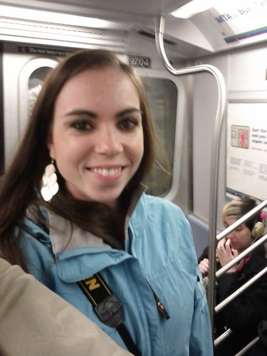 First subway ride!