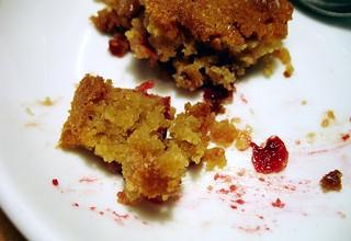 delicious cranberry dessert