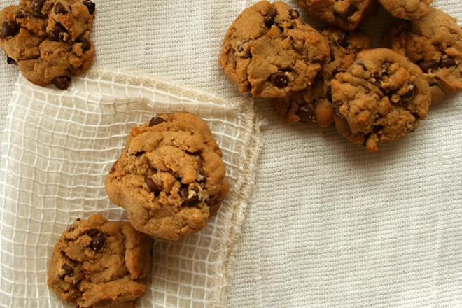 whole wheat chocolate chip cookies 5
