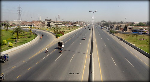 Sagian Interchange On Multan Road Lahore West Punjab