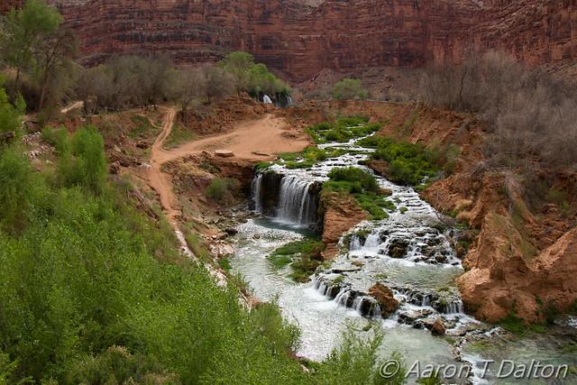 New Navajo Falls and Rock Falls
