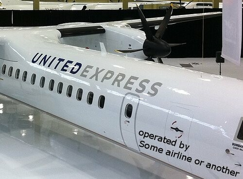 United Express Q400 Operated by . . .