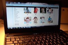 Saras bild av näthandel