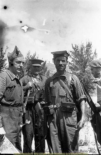 """Hilario Salanova """"el Negus de Tardienta"""", frente de Aragón, agosto de 1936. by Octavi Centelles"""