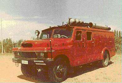 SR 104 Autospecială pentru evacuarea fumului ,gazelor şi de iluminat