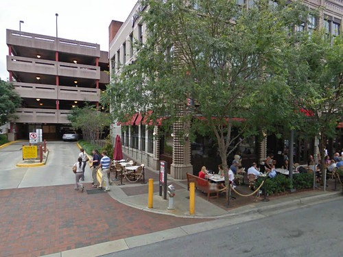 Hidden Parking Garage, Elm Street, Bethesda