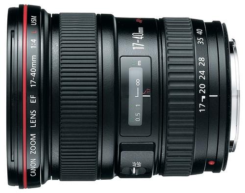 Canon 17-40mm f/4L USM