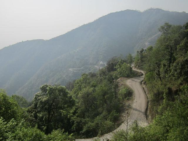 the road from Hetauda to Kathmandu