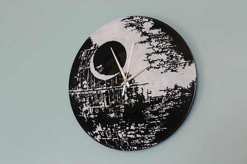 Death Star clock