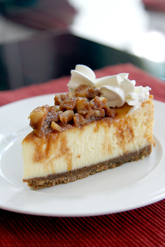 Kitchen's Best White Chocolate Macadamia Brittle Cheesecake
