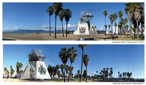 Proposed Venice Beach Zipline