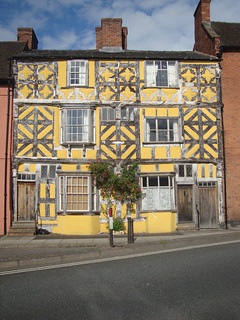 The yellow house Ludlow,South Shropshire