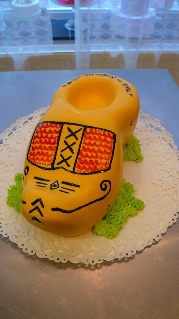 Clog Birthday Cake