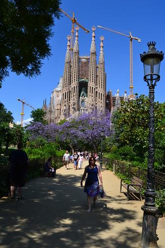Sagrada Familia view