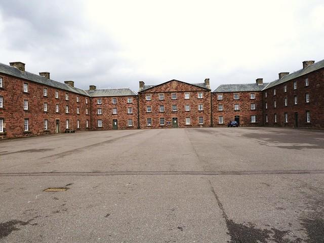 Barrack Square, Fort George