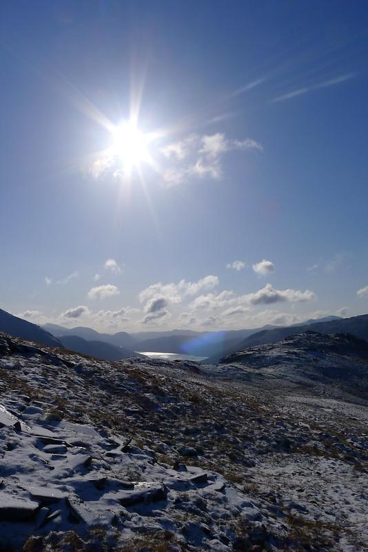 Sunshine over Loch Monar