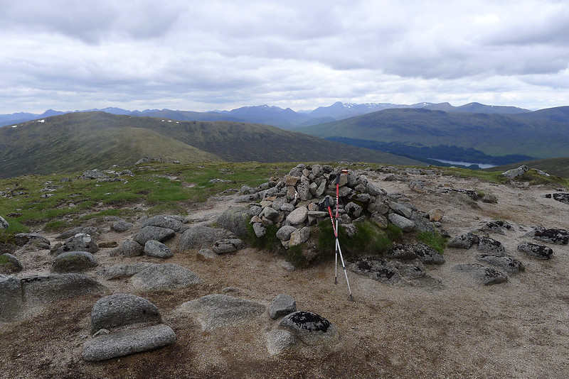 The summit of Sgòr Gaibhre