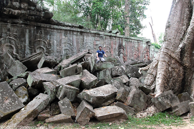 Logan at Ta Prohm